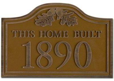 House Plaque